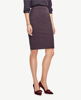 Ann Taylor Dobby Pencil Skirt
