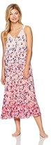 Oscar de la Renta Women's Ombre Floral Nightgown