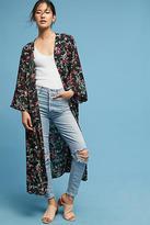 Anthropologie Aster Floral Kimono