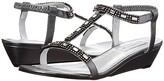 Touch Ups Jazz (Pewter) Women's Dress Sandals