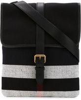Burberry buckle strap messenger bag