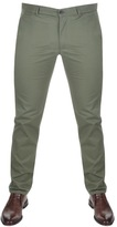 Farah Elm Chino Trousers Green