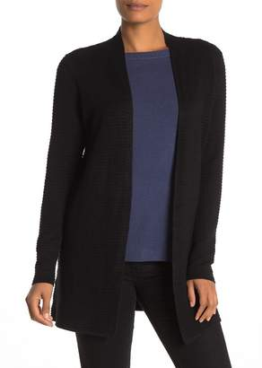 Cyrus Cozy Ribbed Open Front Cardigan