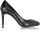 Michael Kors Ashby Black Leather Flex Pumps