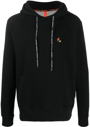 Raeburn Logo Embroidered Long-Sleeved Hoodie