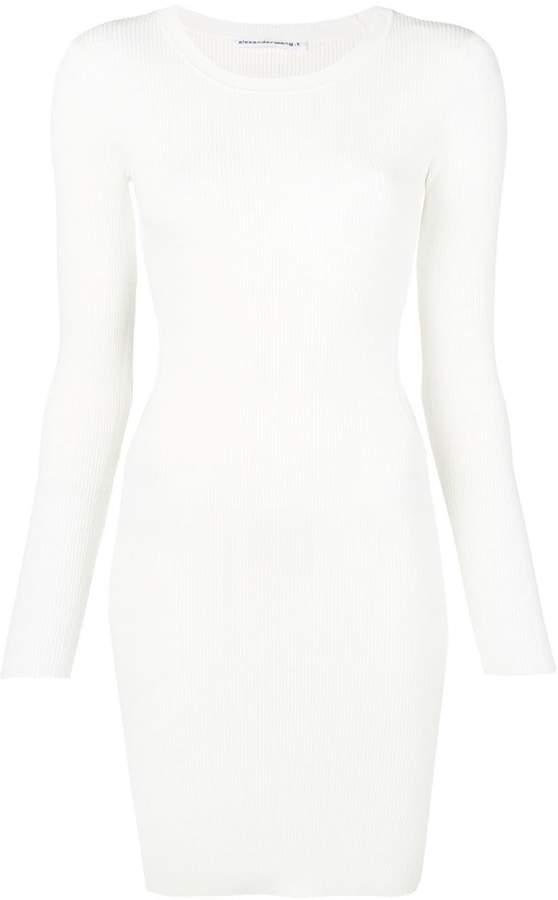 Alexander Wang Ribbed Bodycon Dress