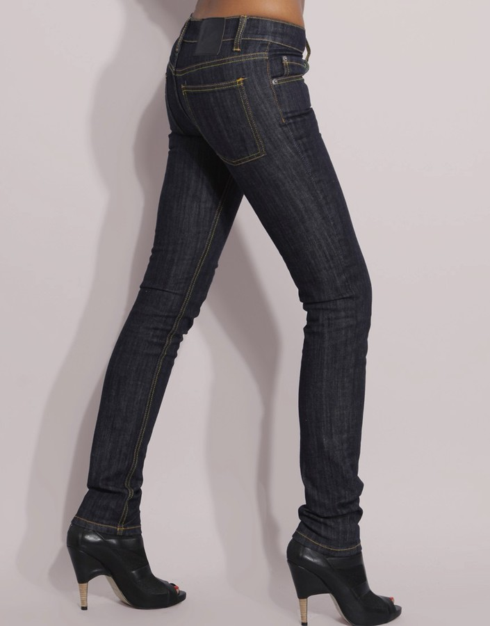 Cheap Monday Rinse Wash Narrow Skinny Jeans