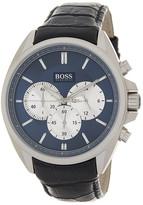 HUGO BOSS Men's Driver Chronograph Leather Strap Watch