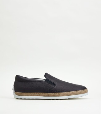 Tod's Leather Slip-Ons