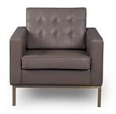 """Agostini Mid-century 27"""" Club Chair Corrigan Studio Fabric: Blue"""