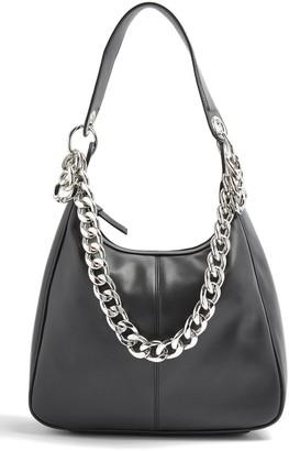 Topshop Chunk Chain Hobo Bag
