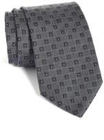 BOSS Men's Geometric Medallion Silk Tie