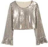 Tularosa Women's Sequin Crop Top