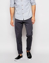 Ymc Slim Chino In Grey - Grey