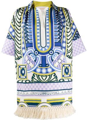 La DoubleJ printed tunic dress