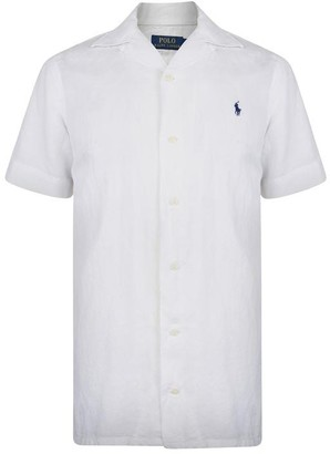 Polo Ralph Lauren Polo Short Sleeved Linen Shirt