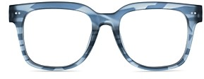 Laurèl Look Optic Unisex Square Blue Light Glasses, 51mm