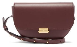 Wandler Anna Buckle Leather Belt Bag - Womens - Burgundy