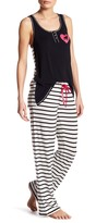 PJ Salvage Striped Pajama Pant