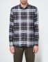 Officine Generale Lipp Pipping Italian Twill Plaid