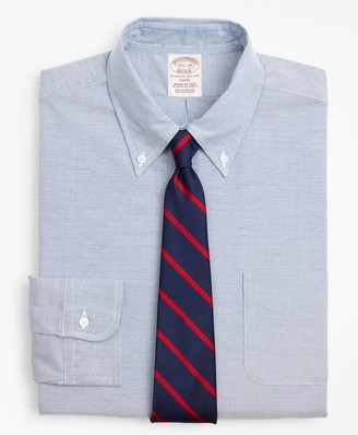 Brooks Brothers Original Polo Button-Down Oxford Soho Extra-Slim Fit Dress Shirt