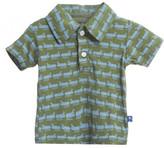 Kickee Pants Print Short Sleeve Polo (Baby, Toddler, & Big Boys)