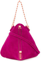Ginger & Smart Ravish Evening shoulder bag - women - Suede - One Size