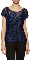 Plenty by Tracy Reese Combo Lace Popover Top