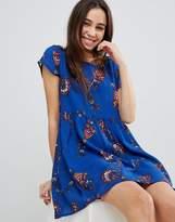 Brave Soul Floral Print Smock Dress