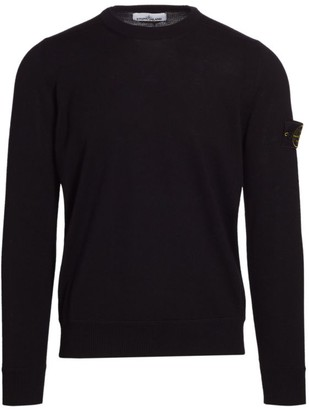 Stone Island Lightweight Wool Sweater