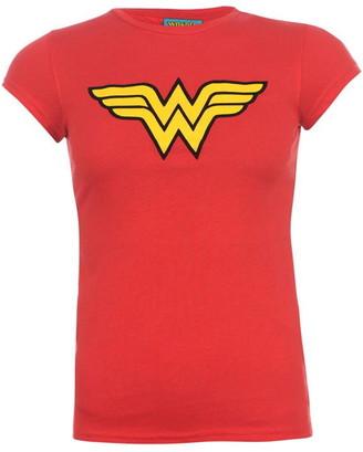 Dc Comics Wonder Woman T Shirt Ladies