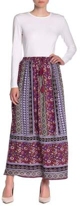 Angie Elastic Waist Maxi Skirt