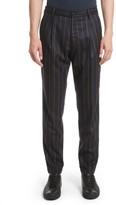 TOMORROWLAND Men's Boucle Stripe Flannel Pants