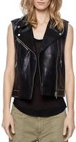 Zadig & Voltaire Lexy Deluxe Leather Vest