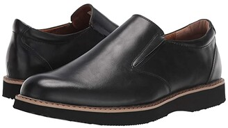 Deer Stags Walkmaster Twin Gore Slip-On (Black) Men's Shoes