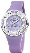 Pasnew Girls Watch Kids Watches Waterpfoof Luminous Analog Wrist Watch with Plastic 405 Purple