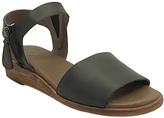Gee WaWa Black Patricia Leather Sandal