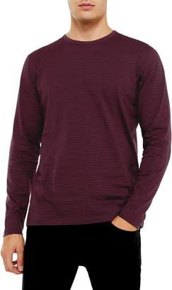 Topman Harry Stripe Long Sleeve T-Shirt