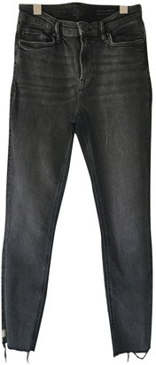 AllSaints Black Cotton - elasthane Jeans for Women