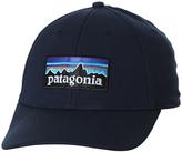 Patagonia P6 Logo Stretch Fitted Cap Blue
