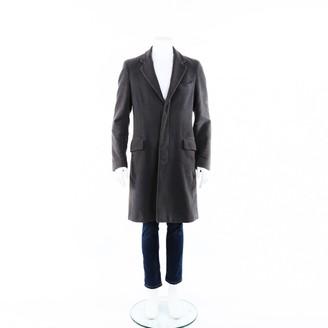 Maison Margiela Grey Polyester Trench coats