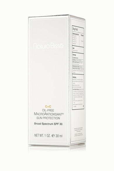 Natura Bisse C+c Oil-free Macroantioxidant Sun Protection Spf30, 30ml