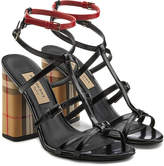 Burberry Anthea Leather Sandals