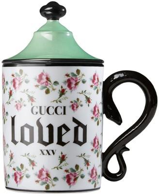 Gucci Snake Macro Roses Mug