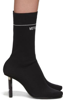 Vetements Black STAR WARS Edition Darth Vader Sock Boots