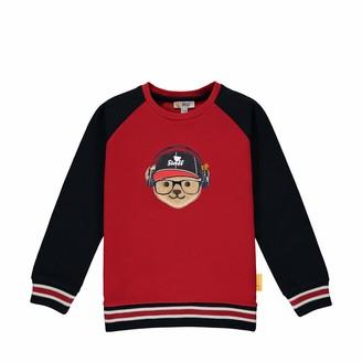 Steiff Boy's Mit Suer teddybarapplikation Sweater