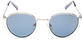 Polaroid Men's Polarized Round Sunglasses, 49mm