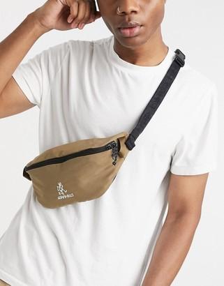 Gramicci cross-body bag in tan