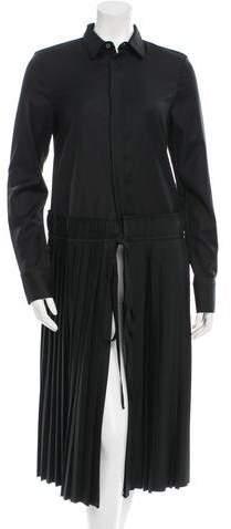 Todd Lynn Pleated Wool Dress w/ Tags