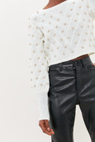 Urban Outfitters UO Sparkly Metallic Bauble Sweater